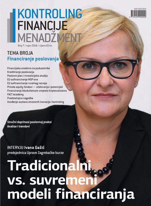 Časopis Kontroling, financije i menadžment broj 7